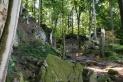 Mühlsteinhöhlen bei Hohenfels